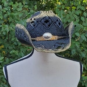 🥀TOMBSTONE Boho Chic Formed Cowboy Straw Hat